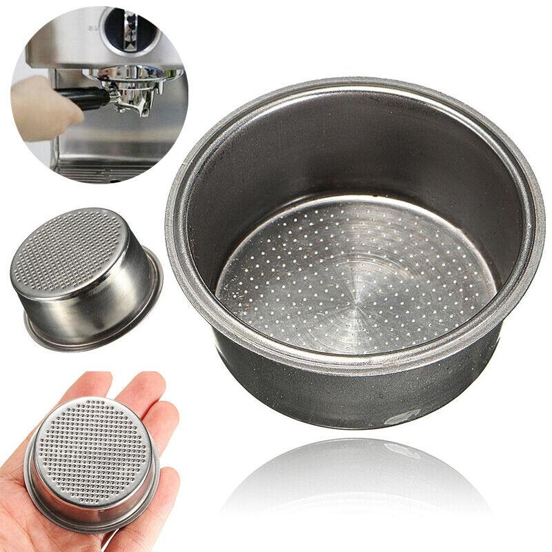 51mm Coffee Filter Basket Non Pressurized For Breville Delon