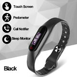 Cawono Bluetooth Smart Watch Bracelet Band Heart Rate Monitor Fitness Tracker
