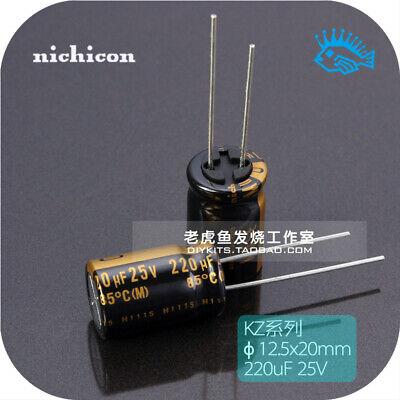 220pcs 220uf 25v Kz Muse Nichicon Audio Electrolytic Capacitor