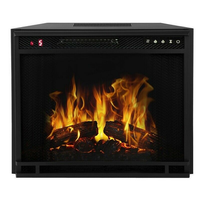 """Regal Flame 33"""" Flat Ventless Heater Electric Fireplace In"""