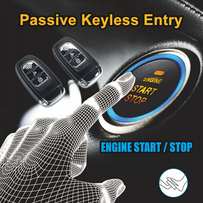 Auto Key Remote Control Startline Start Stop Push Button Passive Keyless Entry