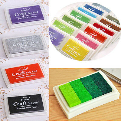 - Children Kid's Washable Ink Pad for Paper Craft/Scrapbooking/Card Making Stamp
