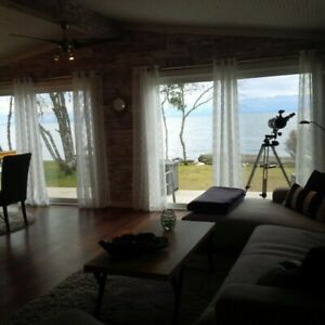 Oceanfront, renovated Mobile Home for rent near Sooke BC