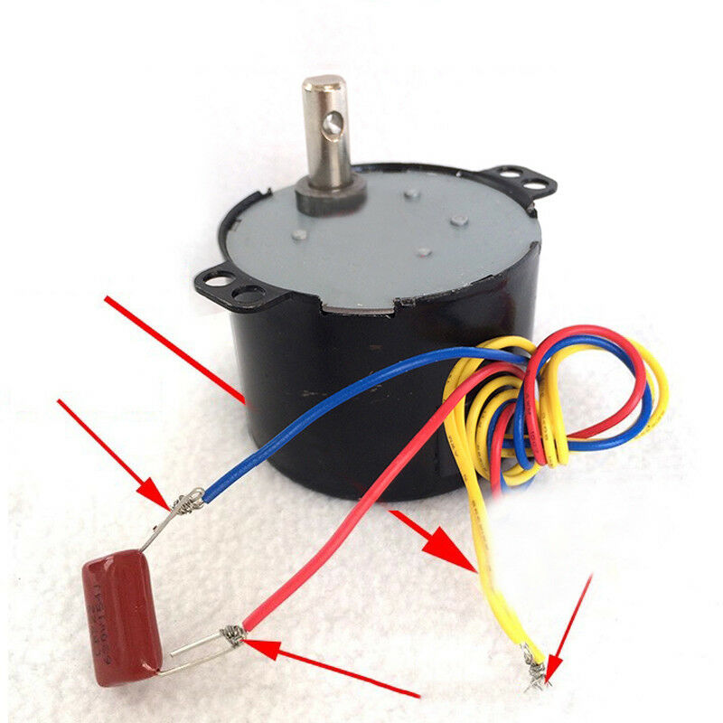 50KTYZ Gear Motor AC motor Permanent magnet synchronous Electric motor 1r//min