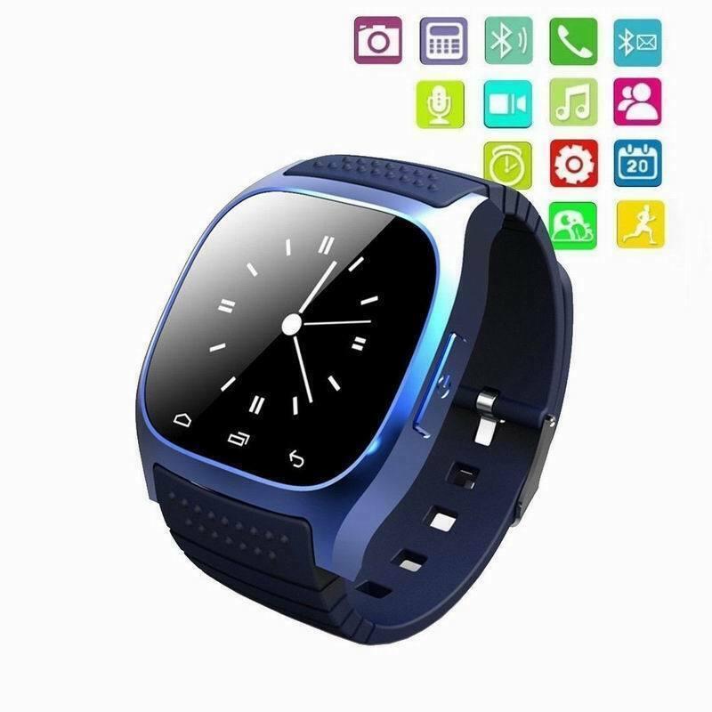 Details zu M26 Smartwatch Android iOS Smartphone Bluetooth TIMER SMS Damen und Herren Uhr