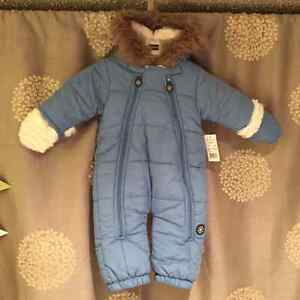 New with tags 3-6 month snow suit - Great Gift Idea