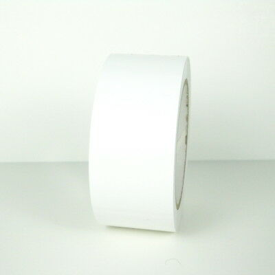 Vinyl Tape - White - 2 48mm X 108 Ft 1 Roll