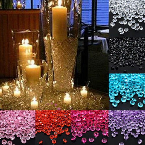 1000pc 4.5mm Wedding Party Decor Scatter Table Crystals Diam