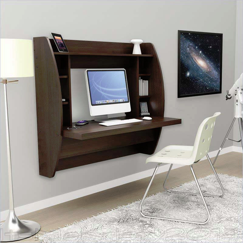 new style of desk is the floating wall mount desk these desks are an