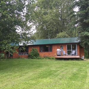 TROUT LAKE BC CABIN FOR SALE