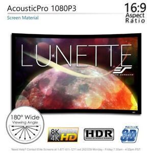 "Elite Lunette 84"" 16:9, Sound Transparent Curved screen"