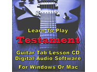 Testament Guitar Tab DARK ROOTS OF EARTH Lessons on Disc