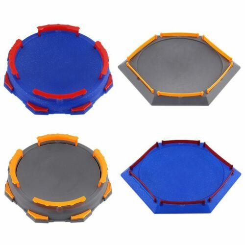 Blue Arena Disk For Beyblade Burst Gyro Spinning Top Stadium