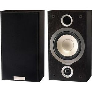 TANNOY-MERCURY-VR-surround-bookshelf-speakers-Dark-Walnut-pair