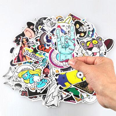 LOT 50pcs Skateboard Sticker Skate Graffiti Laptop Luggage Car Bomb Vinyl Decal