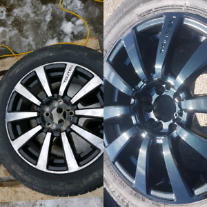 Rim Repairs & Painting with warranty