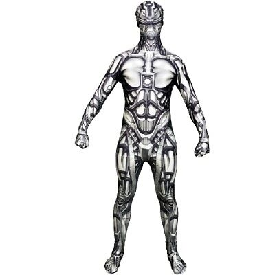 Android Morphsuit (Adult Licensed Morphsuit Android Design Fancy Dress Bodysuit)