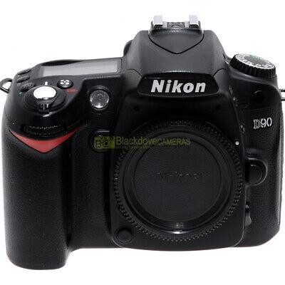 Nikon D90 fotocamera reflex digitale 12,3Mp video HD. Macchina fotografica usata Nikon D90 Video