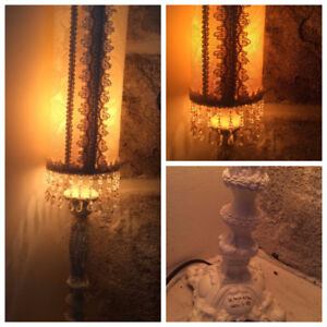 $40.......*** Lampe Table faite par Artisan ***
