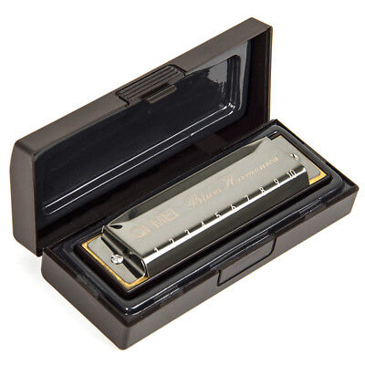 Blues Harmonica French Harp Mouth Organ Phosphor Bronze 10 Hole Key of C