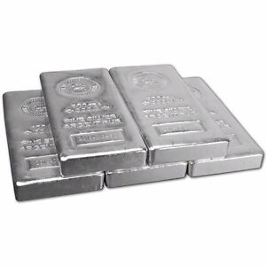 Silver Bars For Sale. Different Varieties. Pure silver bullion Cornwall Ontario image 1