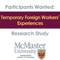 Interview participants - Temporary Foreign Worker Program
