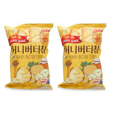 Korean Snack HAITAI HONEY BUTTER CHIP 120g x 2Pack Popular Potato Chip