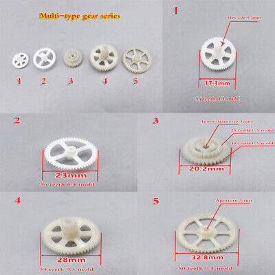 Many-types Plastic Gear Series 0.3 Mold 0.4 Mold 0.5 Mold Motor Robot Helicopter