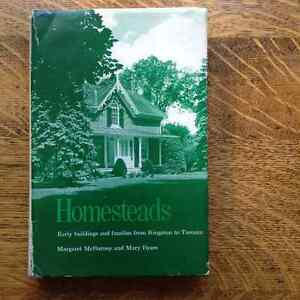 Homesteads by Margaret McBurney and Mary Byres