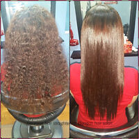 JAPANESE HAIR STRAIGHTENING SPECIALIST OLAPLEX TREATMENT REBOND