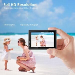 Caméra d'action, 12 MP 1080p 5,1 cm LCD écran, étanche Sports