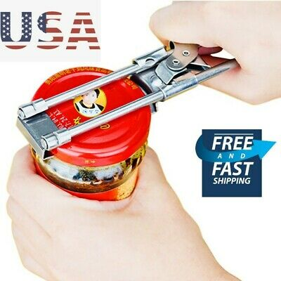 Heavy Duty Stainless Steel Can Bottle Jar Lid Opener Manual