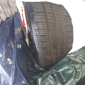 4 all season tires on rims was used for Toyota Corolla 195 65 r1