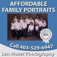Affordable Family Portraits