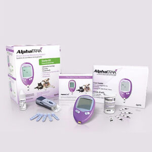 AlphaTrak Pet Glucometer for Dogs and Cats