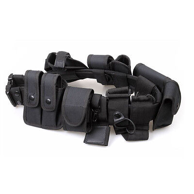 Police Security Guard Modular Enforcement Equipment Duty Belt Tactical Holster .