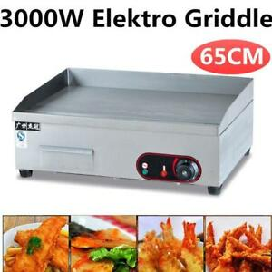 25 FLAT TOP ELECTRIC T STAT -  RESTAURANT  COMMERCIAL GRILL - FREE SHIPPING