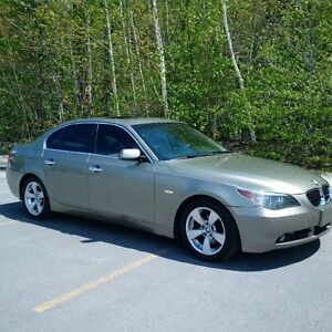 2007 BMW 5-Series Leather Sedan