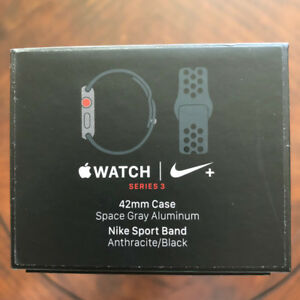 Apple Watch Series 3 Nike+ GPS & Cellular