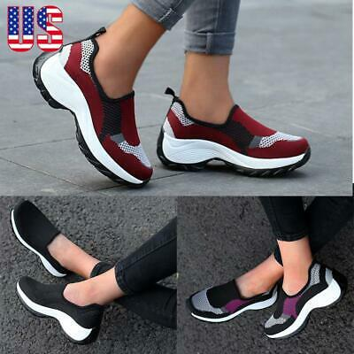 Sport Women Air Cushion Sneakers Runnning Athletic Trainer Casual Gym Shoes Size