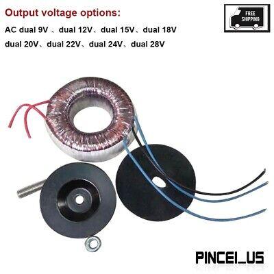 100w Toroidal Transformer Power Dac Preamp Amplifier Ac Dual 12v15v18v22v24v
