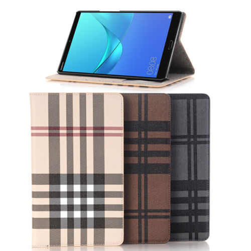"""Leather Smart Magnetic Shockproof Wallet Case Cover For Huawei MediaPad M5 8.4"""""""