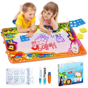 Large Water Drawing Mat Toddlers Painting Board Writing Mats in