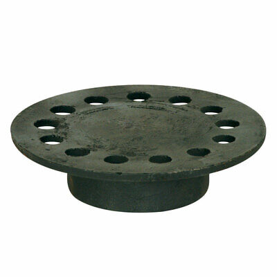 Sioux Chief 6-34 In. Black Cast Iron Round Floor Drain Replacement Strainer