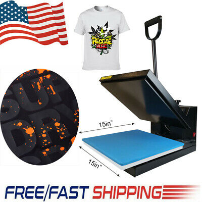 Heat Press Machine Transfer 15x15 Digital Board For T-shirt Plate Sublimate Us