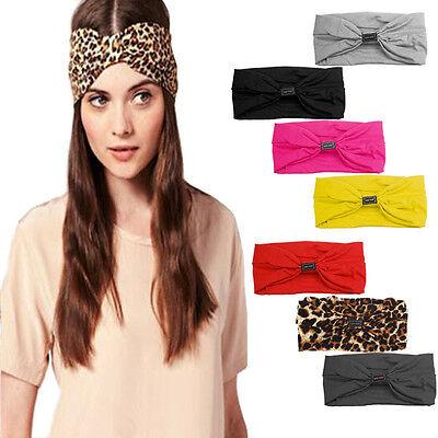 Women Headband Elastic Hairbands Lady Yoga Headband Sport Headwear Hot Turban