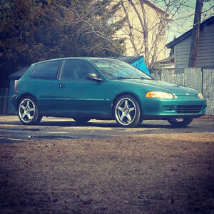 1995 Honda Civic CX Hatchback