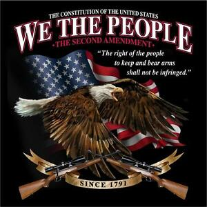 2nd-Amendment-We-the-people-Second-amendment-The-right-to-bear-arms-T-shirt