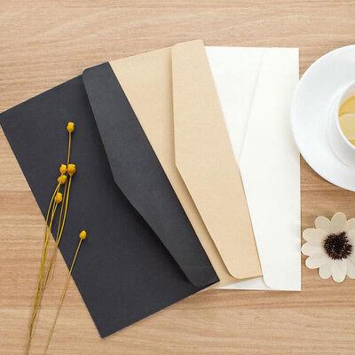 20pcslot Pure Color Formal Business Envelopes For Greeting Card Paper Money Bag