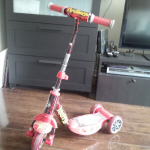 Adjustable Huffy scooter for kids $14